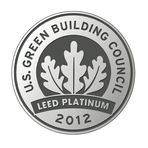 werner mertz professional green care tana professional leed platinum building logo certificaat