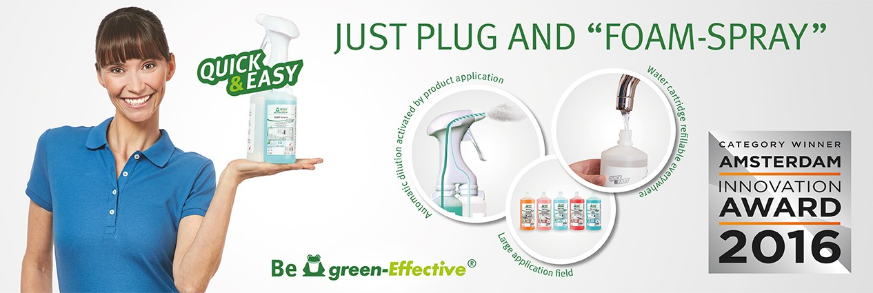 werner mertz professional green care quick & easy nettoyant écologique professionnel interclean innovation award